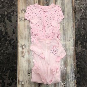 🌻3/20$ Footie Pajamas Size: Newborn